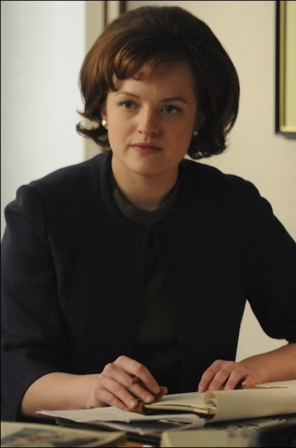Elisabeth Moss nell'episodio Public Relations di Mad Men