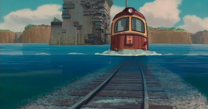 Il magico treno de La città incantata - Spirited Away