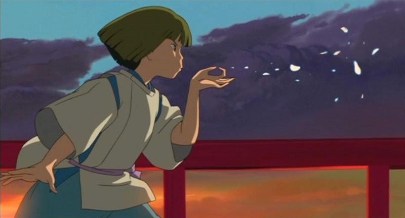 Il misterioso Aku in una sequenza del film d\'animazione La città incantata