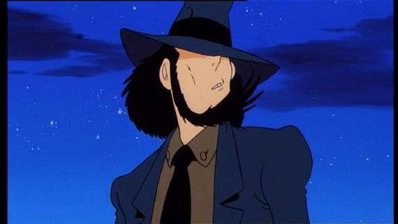 Jigen in una scena del film d\'animazione Lupin III - La Pietra della Saggezza