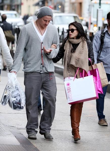 Channing Tatum fa shopping con Jenna Dewan