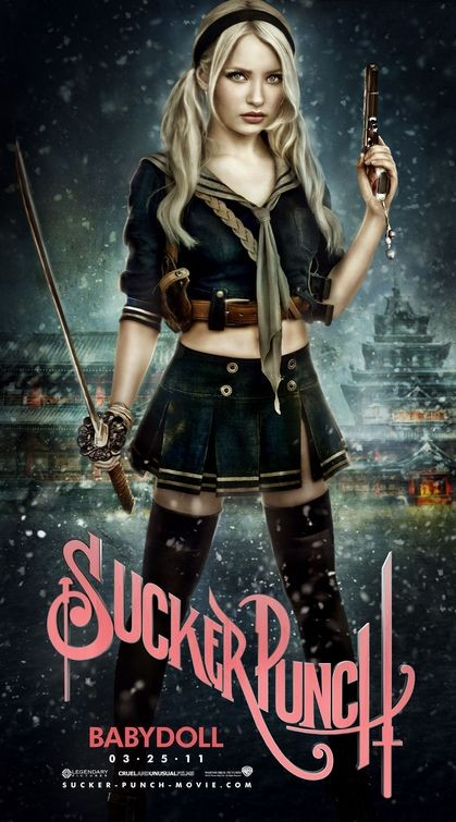 Character Poster per Sucker Punch - Babydoll