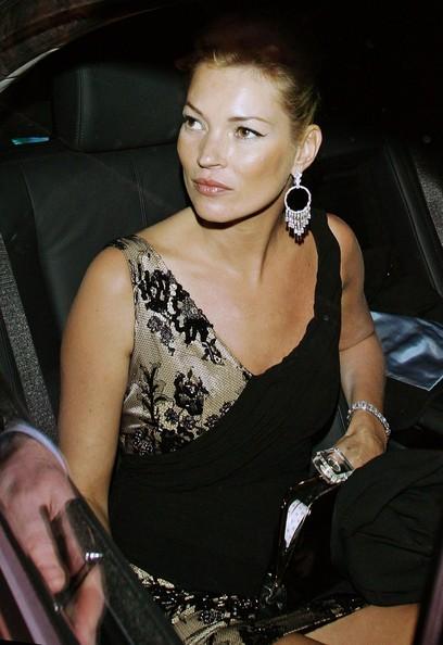 Kate Moss all'uscita dall'Ivy