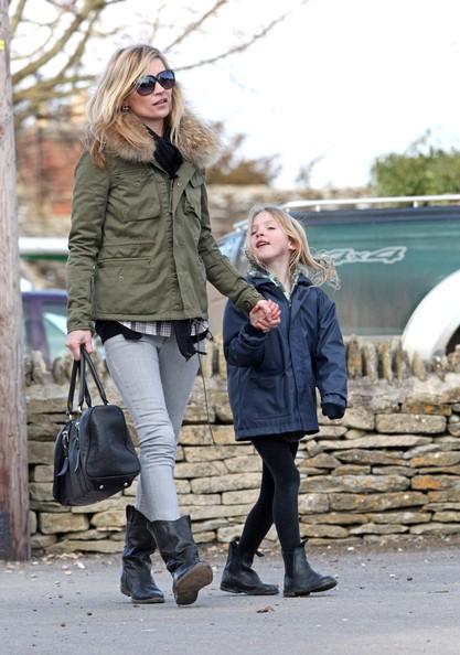 Kate Moss con sua figlia Lila Grace
