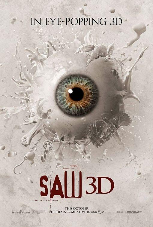 La locandina di Saw 3D: The Traps Come Alive