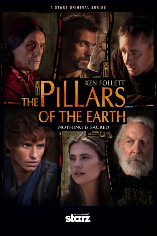 La locandina di The Pillars of the Earth