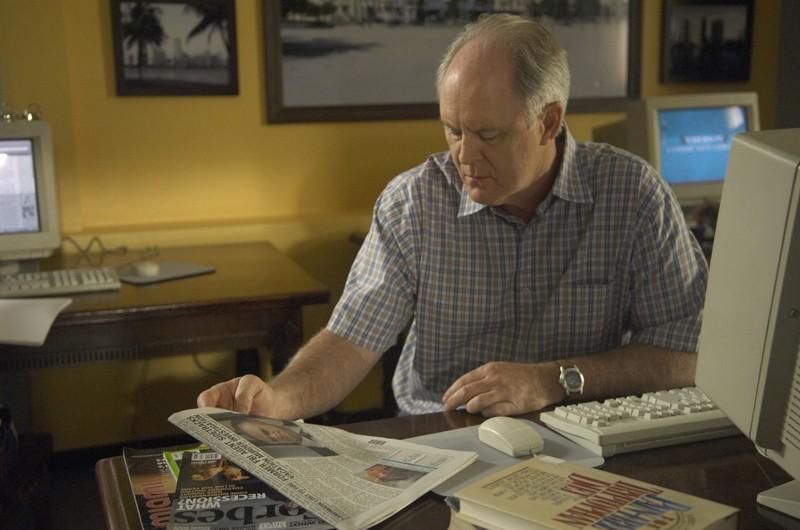 John Lithgow in un momento dell'episodio 3 giorni di libertà di Dexter