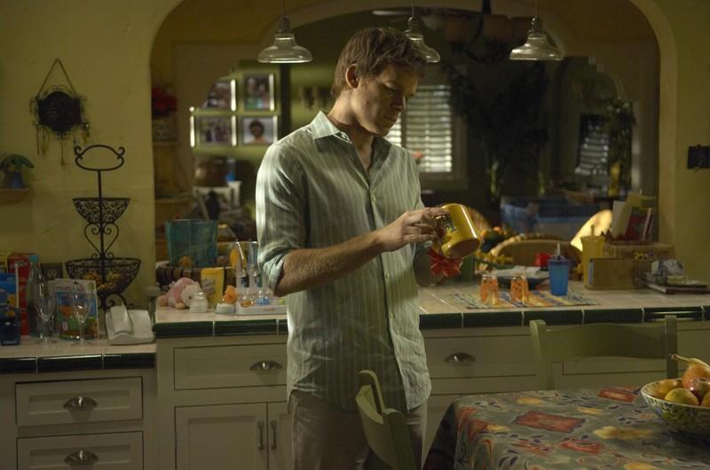 Michael C. Hall nell'episodio 3 giorni di libertà di Dexter