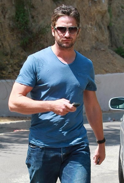 Gerard Butler arriva a Hollywood