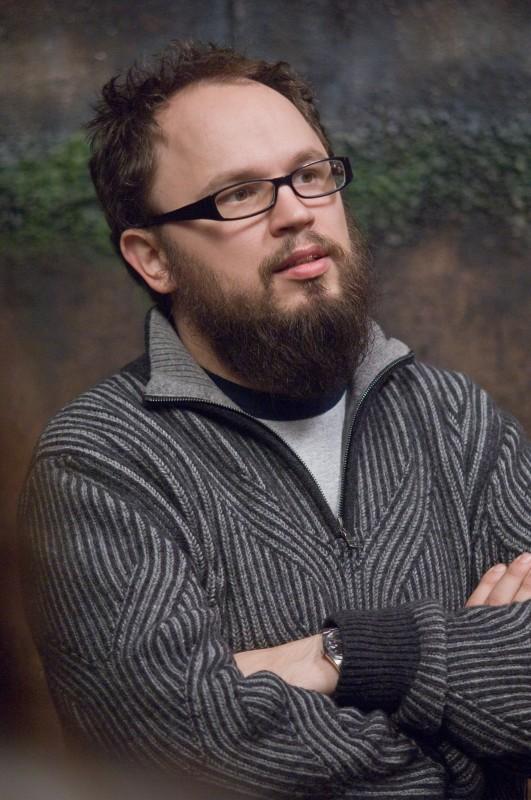 Il regista Christian Alvart sul set del film Pandorum