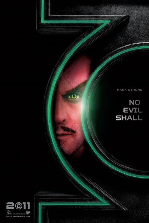 Character Poster per Green Lantern: Mark Strong