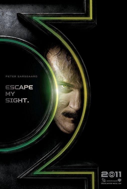 Character Poster per Green Lantern: Peter Sarsgaard