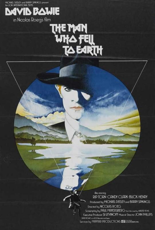 Poster de L\'uomo che cadde sulla terra (The Man who fell To Earth)