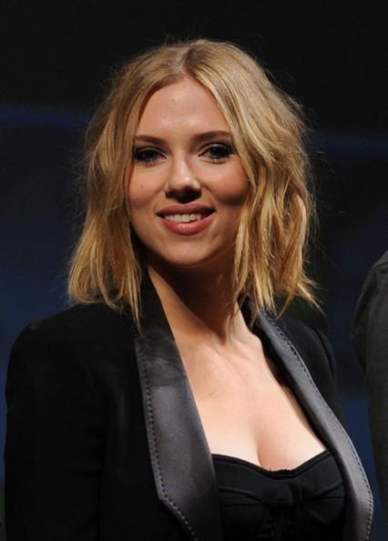 Scarlett Johansson al Comi-Con 2010