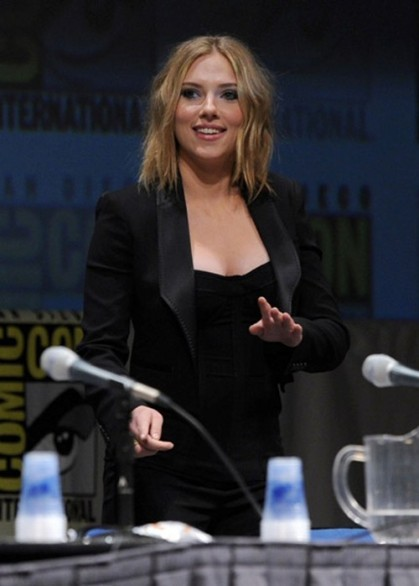 Scarlett Johansson nuovo haircut