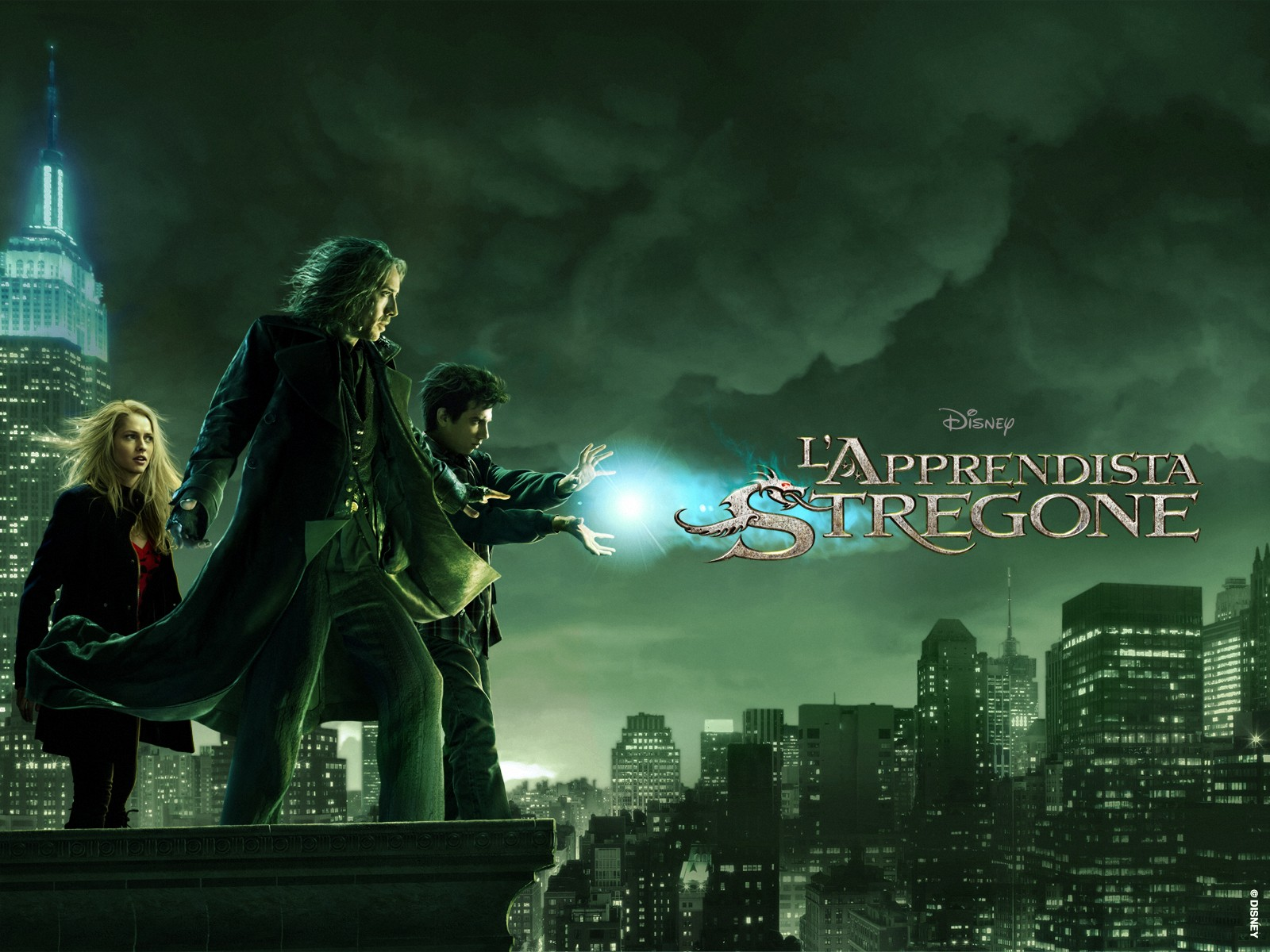 Wallpaper del film The Sorcerer's Apprentice