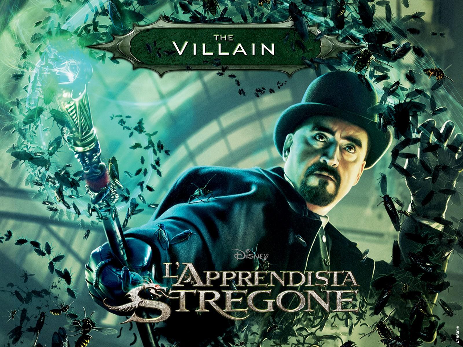 Wallpaper del film The Sorcerer's Apprentice dedicato a Maxim Horvath