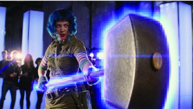 Mary Elizabeth Winstead nel film Scott Pilgrim vs. the World