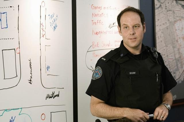 Matt Gordon nell'episodio Signals Crossed di Rookie Blue