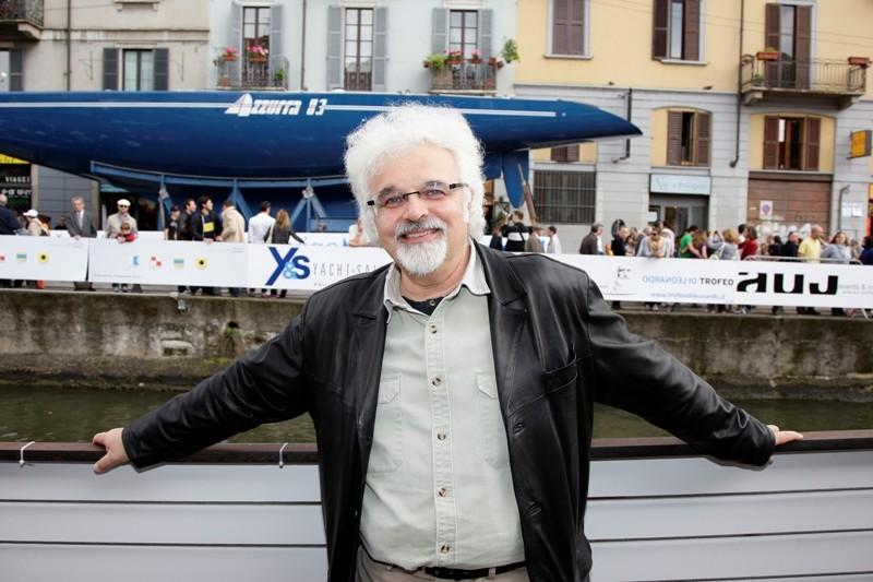 Patrizio Roversi al salone nautico milanese NavigaMI