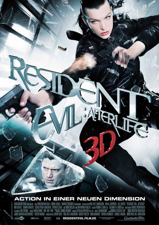 Poster tedesco per Resident Evil: Afterlife