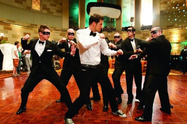 Un'immagine di Rick Malambri dal film Step Up 3-D