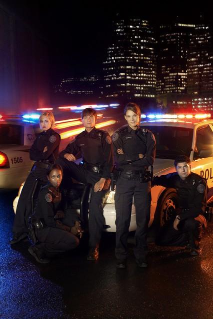 Una foto promozionale del cast di Rookie Blue