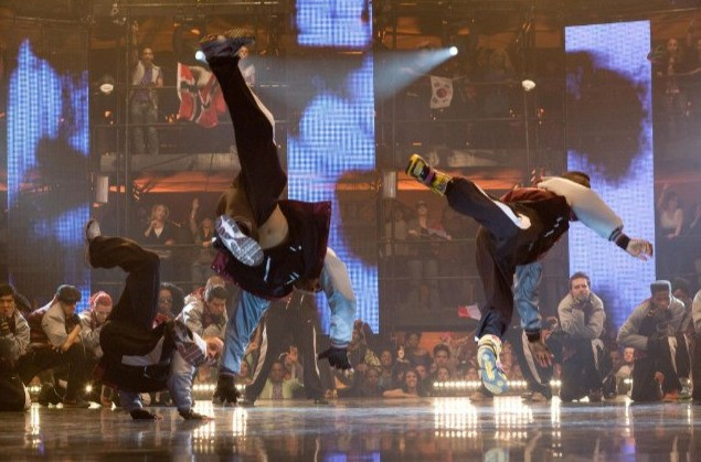 Una scena del film Step Up 3-D