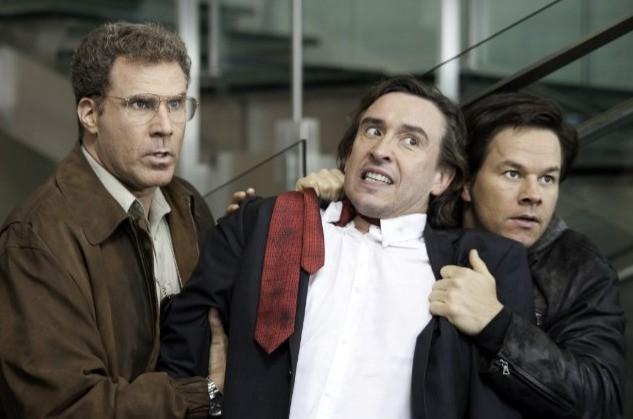 Will Ferrell e Mark Wahlberg con Steve Coogan nella commedia The Other Guys