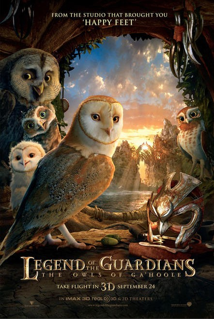 Poster di Legend of the Guardians: The Owls of Ga'Hoole