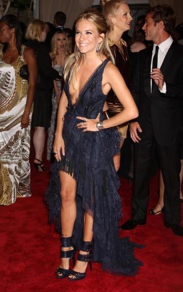 Una splendida Sienna Miller a New York nel 2010