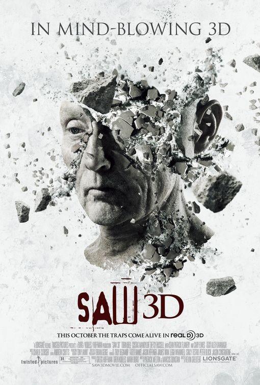 Nuovo poster per Saw 3D: The Traps Come Alive