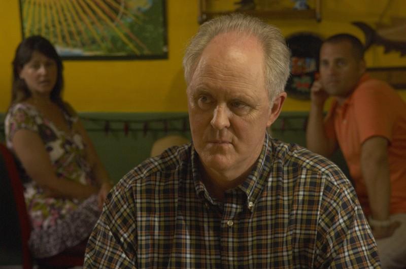 Dexter: John Lithgow in una scena dell'episodio Dirty Harry