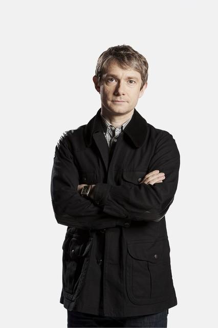 Martin Freeman è John Watson nella serie Sherlock