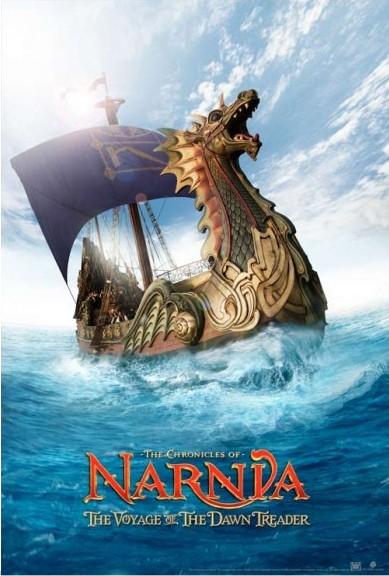 Nuova locandina di Le cronache di Narnia: Il viaggio del veliero