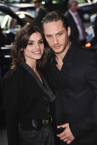 Tom Hardy e Charlotte Riley all'English Nationl Ballet Summer party