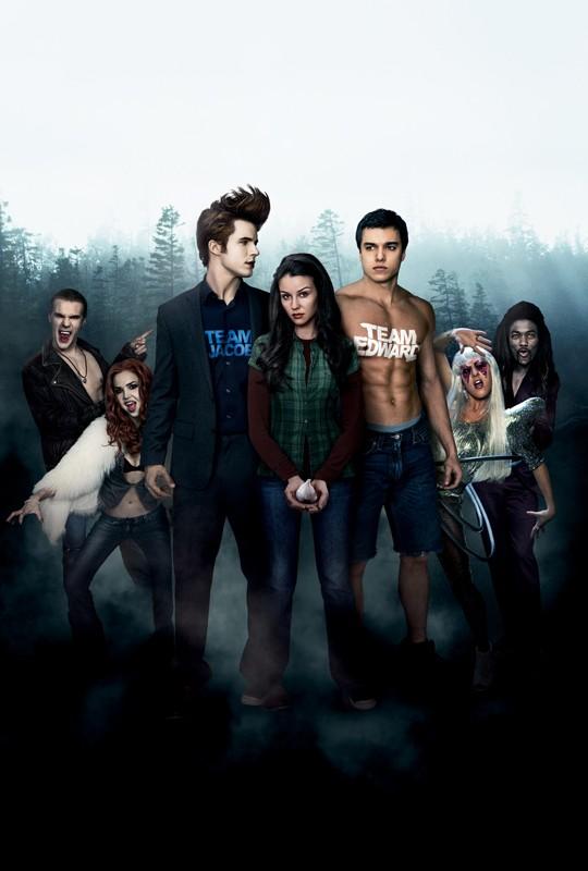 Un'immagine promozionale utilizzata per il poster di Vampires Suck