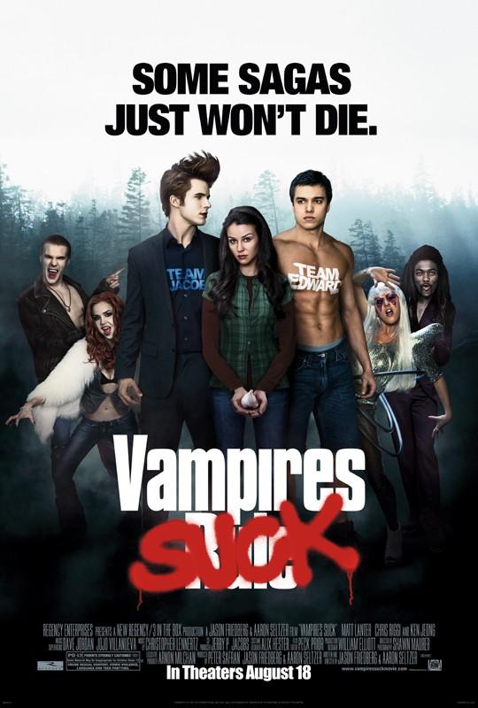 Un poster ufficiale del film Vampires Suck