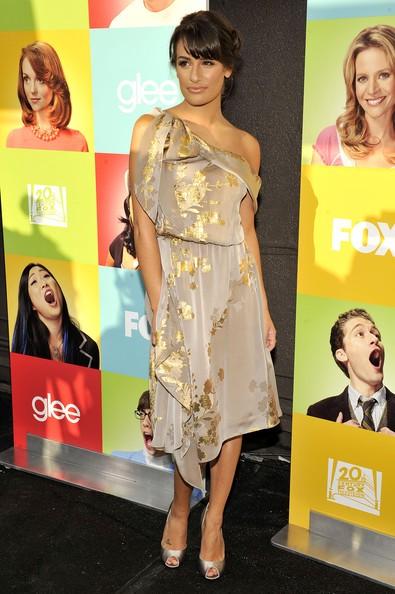Lea Michele al Fox Glee Academy Event