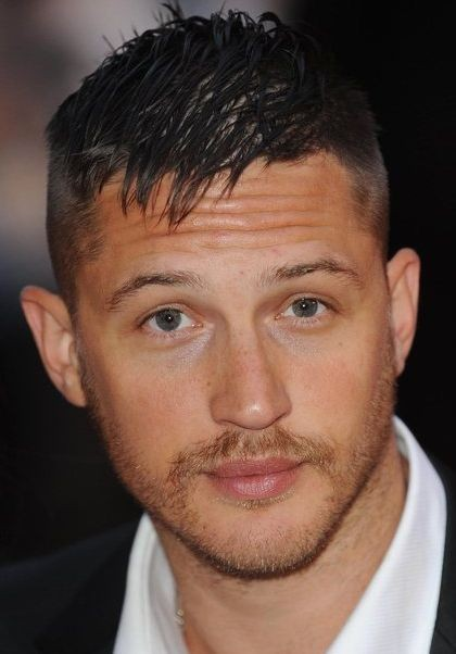 primo piano di Tom Hardy