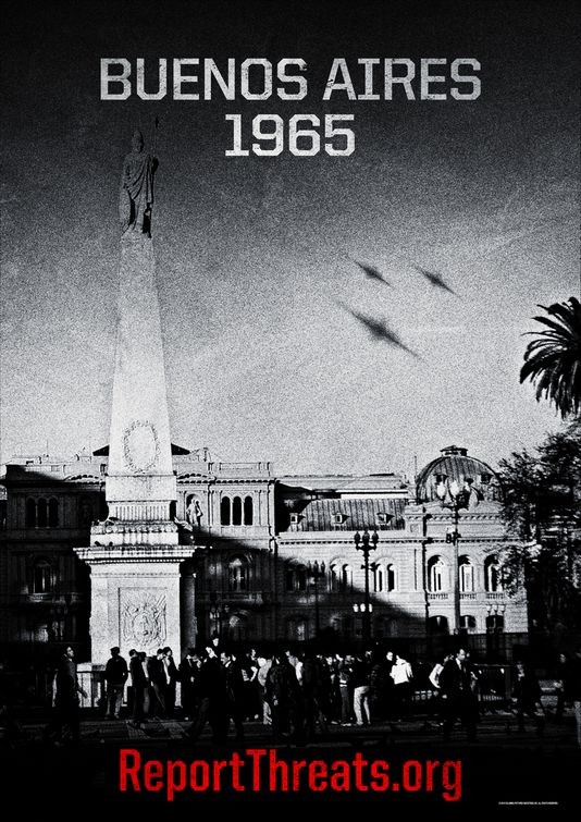 Teaser poster per Battle: Los Angeles -  Versione 1965
