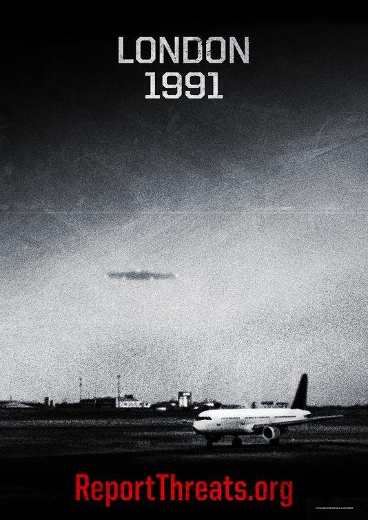 Teaser poster per Battle: Los Angeles -  Versione 1991