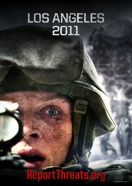 Teaser poster per Battle: Los Angeles -  Versione 2011