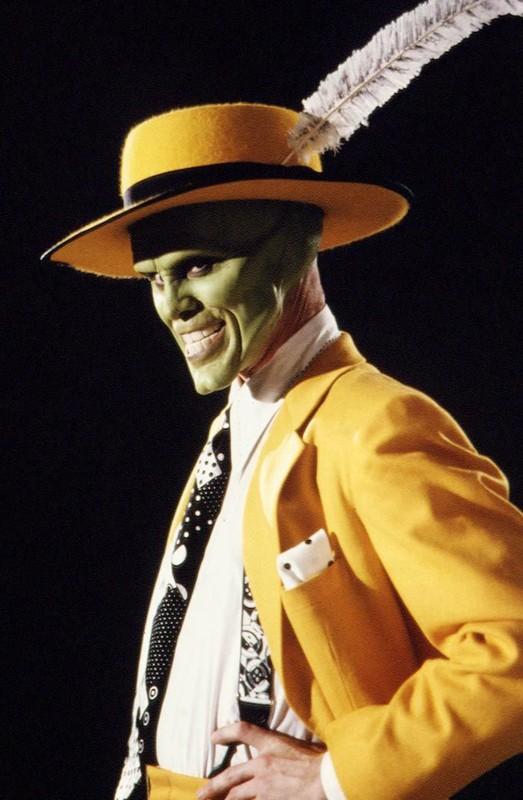 Un'immagine promo di Jim Carrey per The Mask - da zero a mito