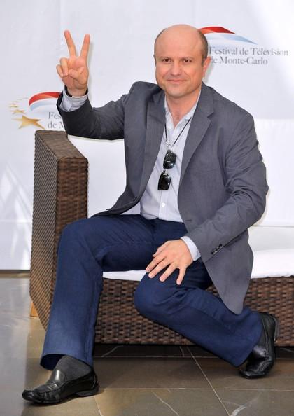 un 'vittorioso' Enrico Colantoni al Festival di Montecarlo nel 2010