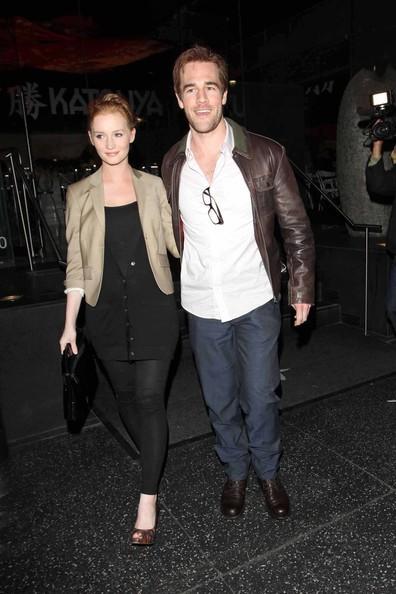 James Van Der Beek e la moglie Kimberly Brook