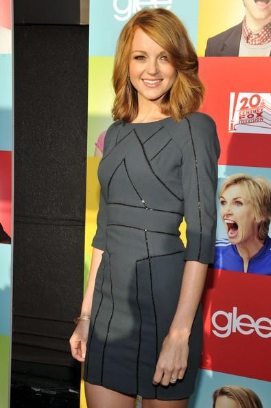 Jayma Mays al Fox Glee Academy Event