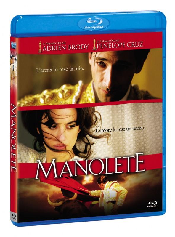 La copertina di Manolete (blu-ray)