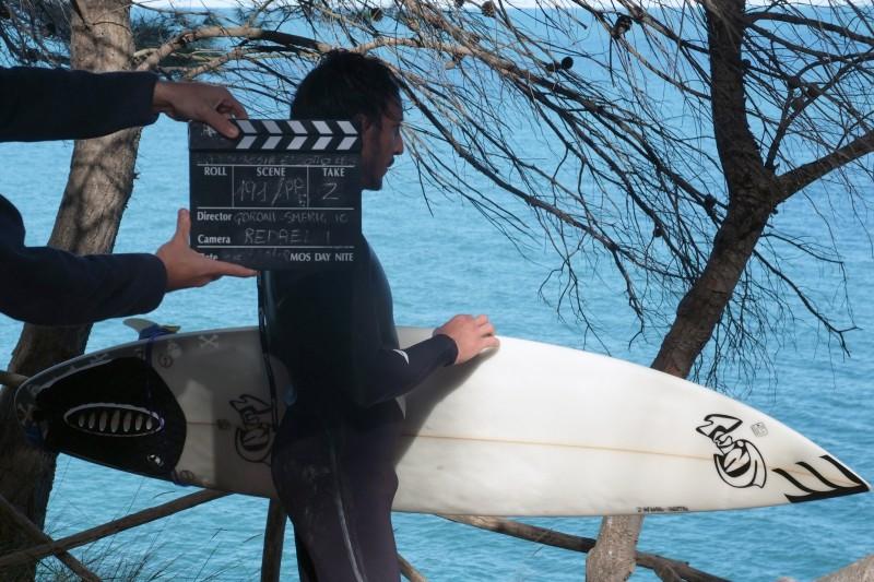 Francesco Pesaola sul set de La Polinesia è sotto casa