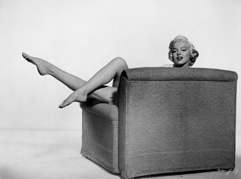 Una foto della bellissima Marilyn Monroe